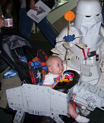 DIY AT-AT Baby Stroller | The Official Star Wars Blog