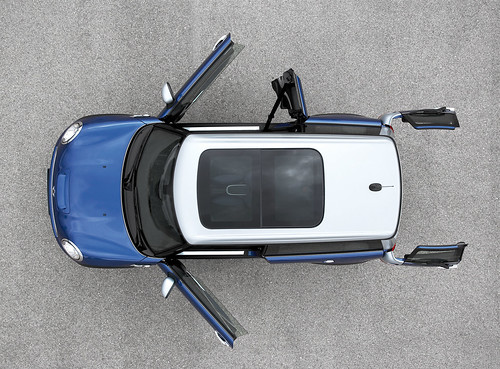 RSS clubman from above