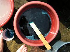 Dye bath