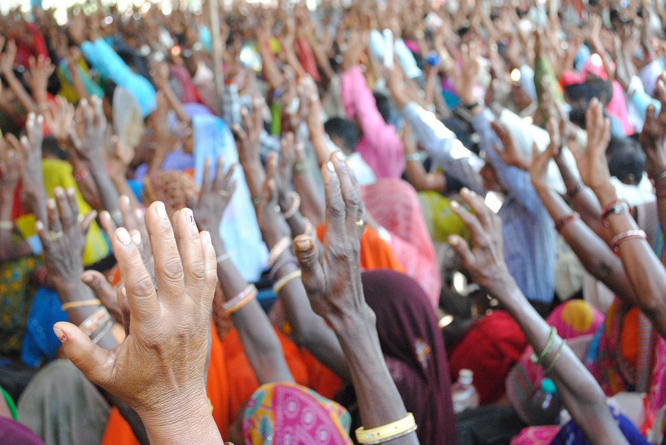 Pics from the satyagraha - 2 Oct 2010 - 36