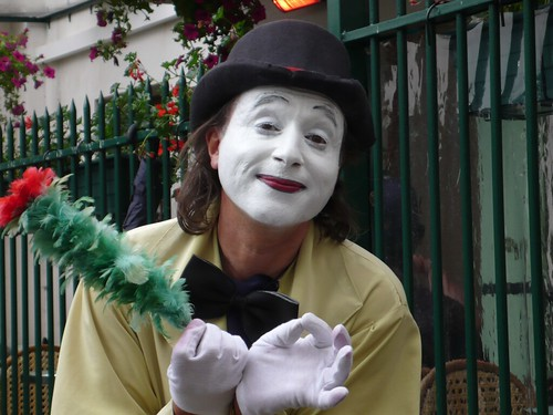Mime's a happy life