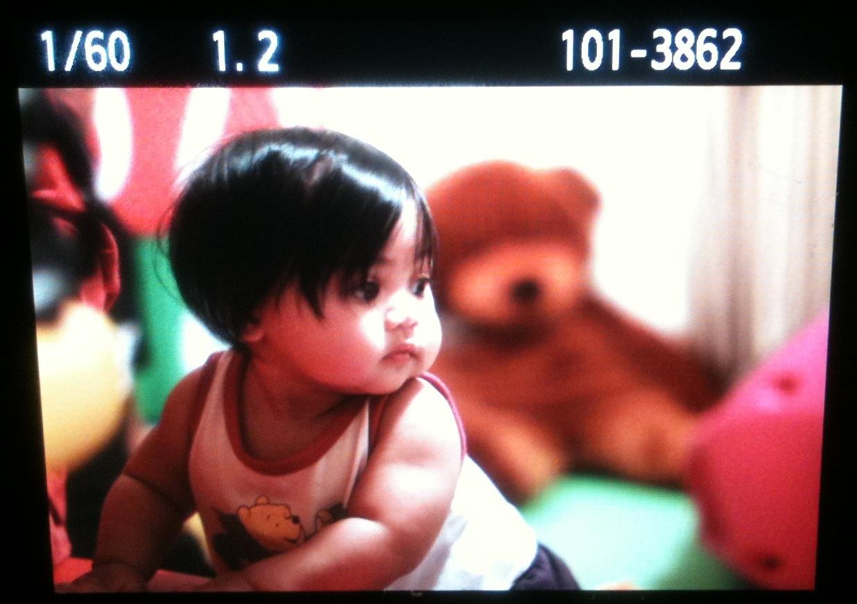 My daughter Qisya