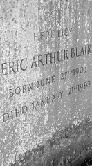 Grave of Eric Arthur Blair (George Orwell), Su...
