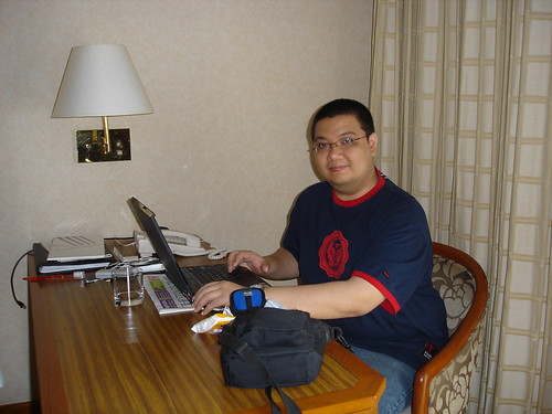 Renzie Baluyut.  In SG, March 2007.