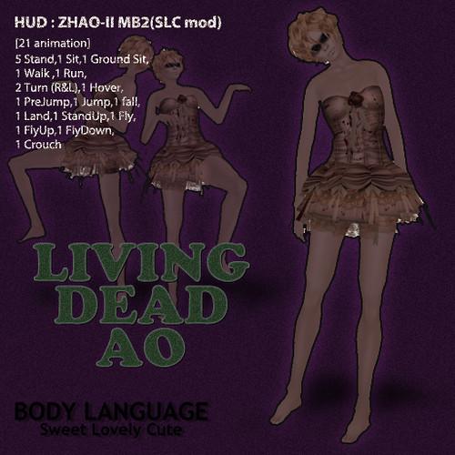 LIVING DEAD AO set