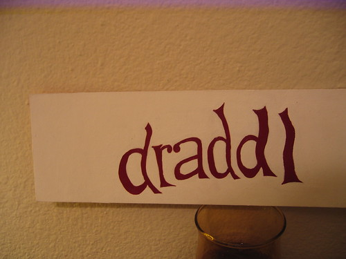 "CAPTCHA painting: ""draddl"""