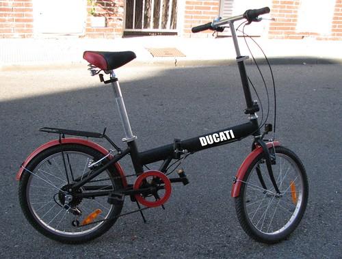 Mi nueva Bici Plegable