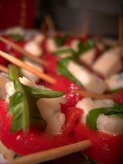 paprika-cheese-basil snacks