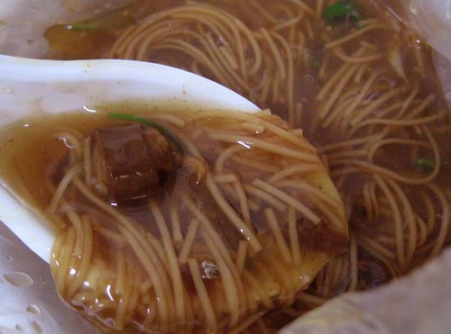 large intestine noodles / 大腸麵線