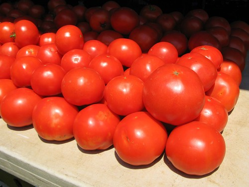 Jersey Tomatoes at the Englewood Farmers Market