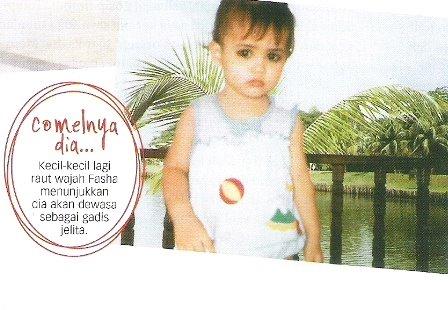 gambar fasha masa kecil