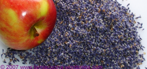 apple and lavender