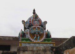 Vimanam of the Chakrathazhwar shrine