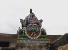 Vimanam of the Chakrathazhwar shrine