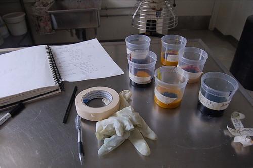 Preparing my dyes