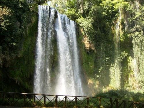 La Caprichosa, en el Parque Natural del Monasterio de Piedra