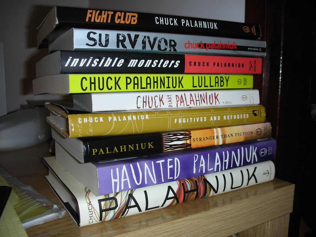 Chuck Palahniuk's books