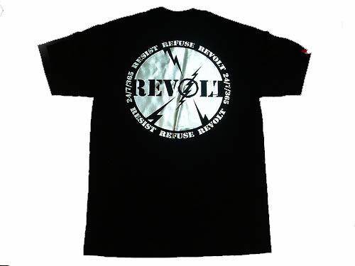 Revolt tee (back)