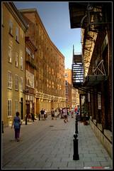 les rues du Vieux Québec