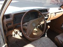 1981 Datsun 210 dash