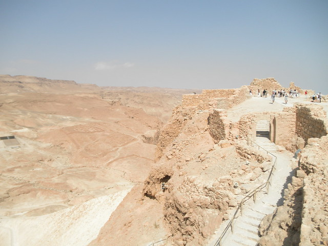Masada - View from the edge