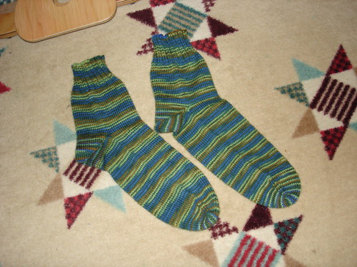 dad's green socks