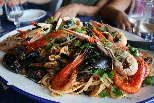 Spaghetti ai Frutti di Mare, Marettimo