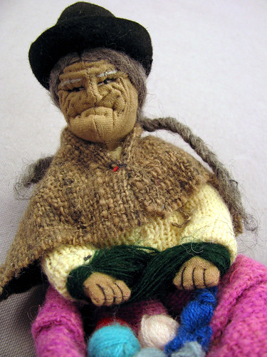 Bolivian-Knitting-Doll