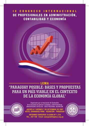 afiche congreso paraguay