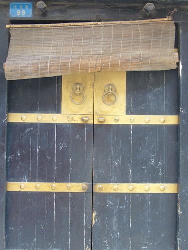 Door in Muslim Quarter-Xian