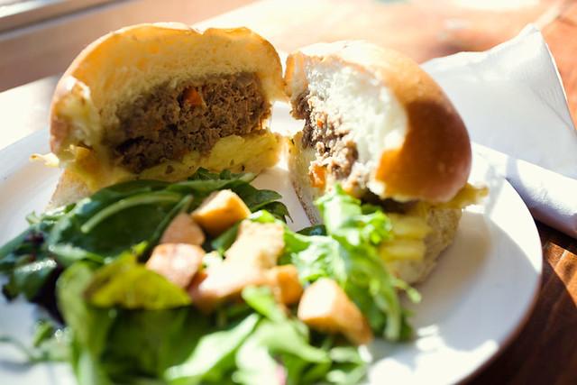 Meatload Breakfast sandwich