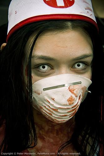 Toronto Zombie Walk 2010: Zombie Nurse