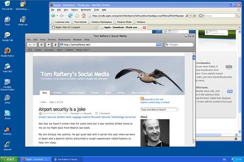 Safari 3 running on Windows