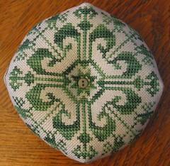 Green Biscornu