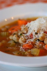Chunky Chickpea Vegetable Soup  2