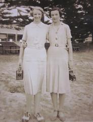 Grandma & Nell McNaught 1935