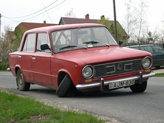 The Lada may not go the distance...