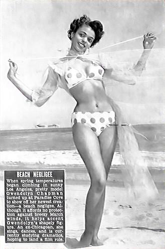 Beach Negligee - Jet Magazine Apr 8, 1954 by vieilles_annonces.