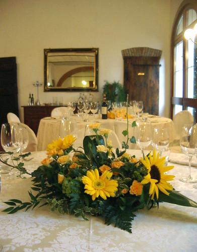 Tavoli Matrimonio Girasoli : Matrimonio fioristailtulipano pagina
