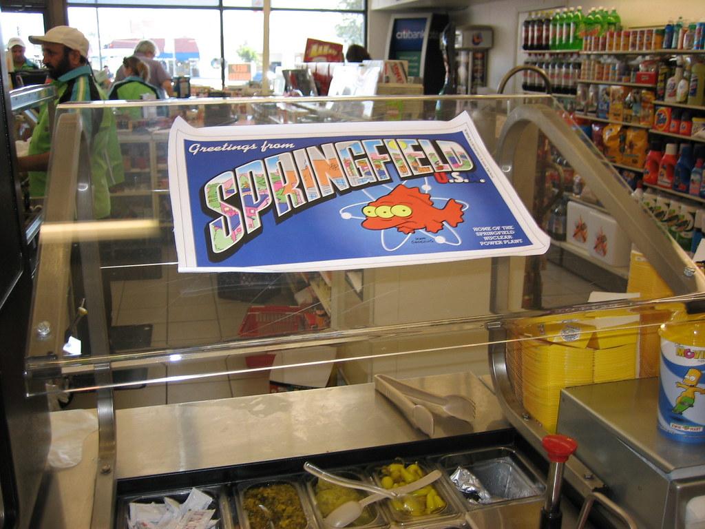 greetings from springfield radiactive fish