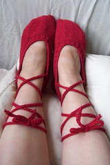 red twinkletoes slippers