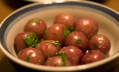 The potatoes turned out much more photogenic than I ever imagined