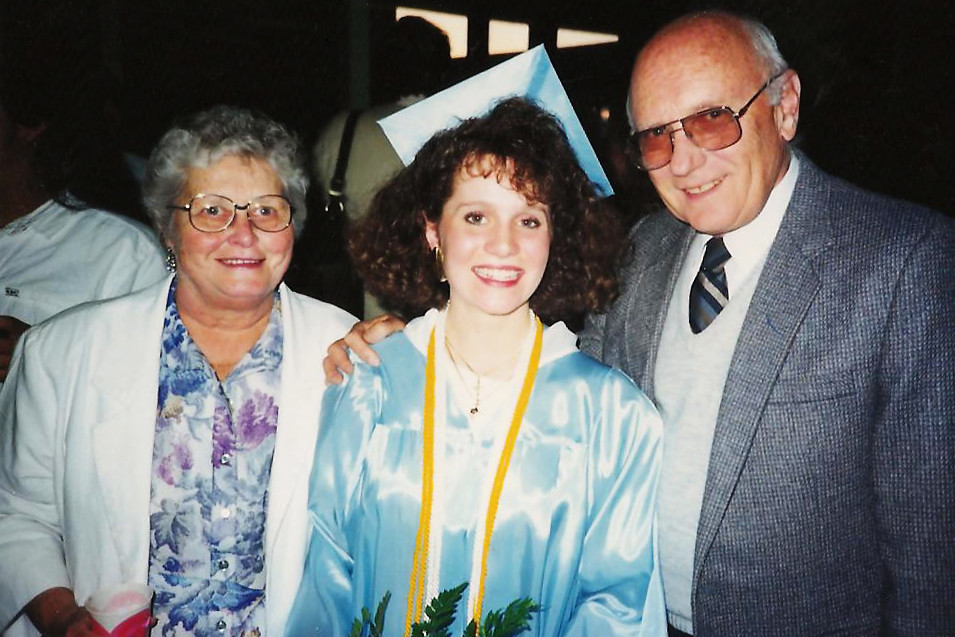 Grandma my graduation
