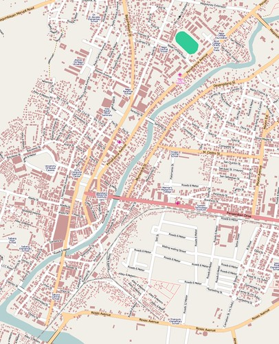 Naga City GIS data import