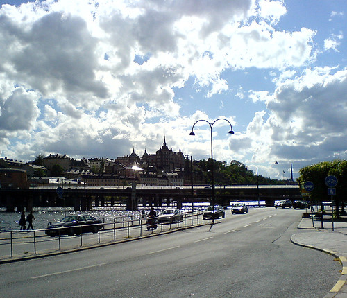 Summer clouds in Stockholm
