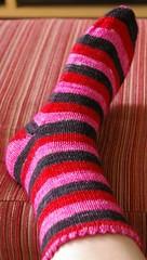 Strange Little Mama sock #1