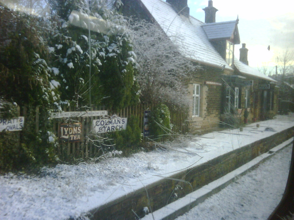Brockholes Station