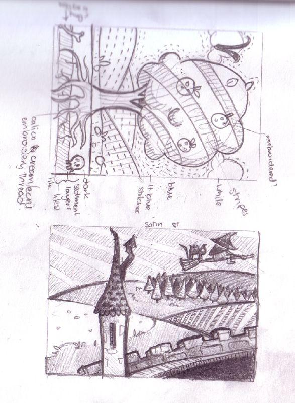 atc size doodles