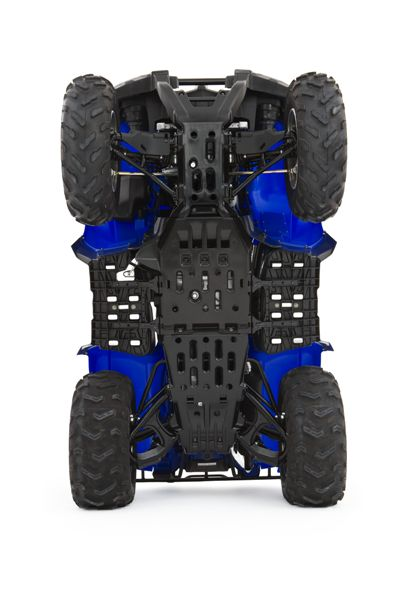 Yamaha Grizzly  Handguards With Rear View Mirrors