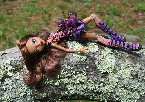 Monster High - Clawdeen Wolf & Cresent Kitty